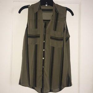 Express sheer blouse. Never worn.